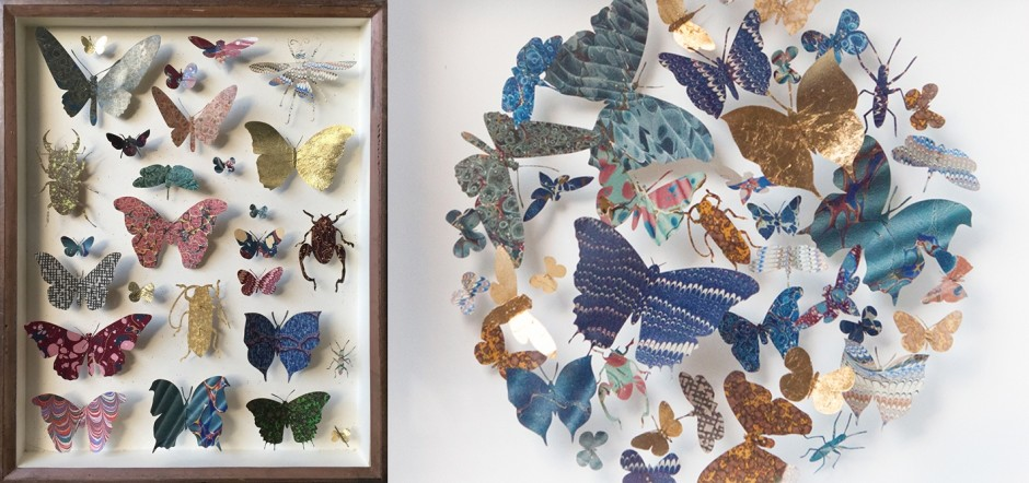 HELEN WARD HELEN WARD: PAPER ENTOMOLOGY NEW COLLECTION OF 'PAPER ENTOMOLOGY' ARTWORKS UNTIL 24 AUGUST