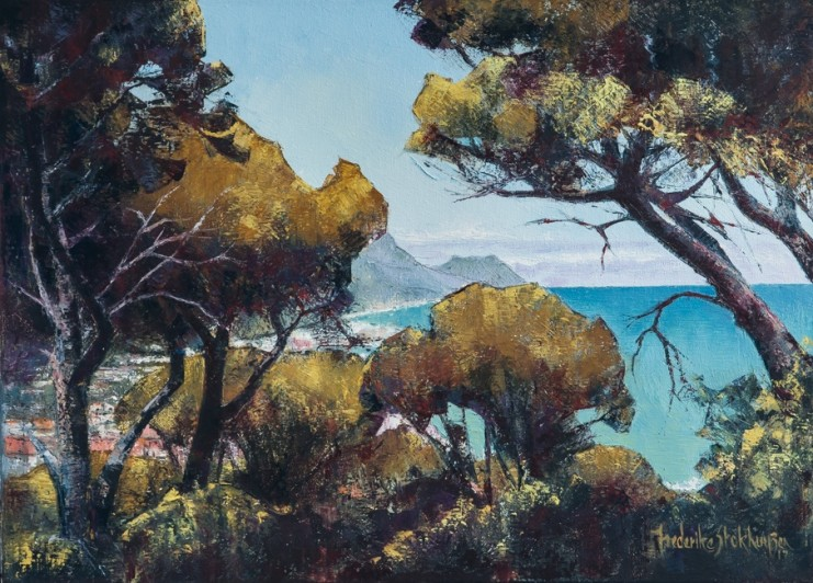 CAMPS BAY, CAPE TOWN  FREDERIKE STOKHUYZEN