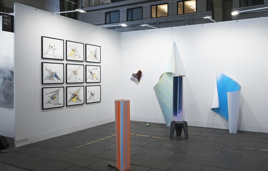 Positions Berlin Art Fair Booth View Featured Artist: Elisabeth Sonneck