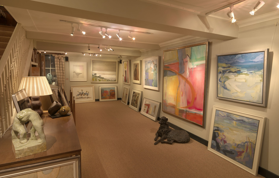 Current Exhibition: Christmas Show of New Work by Gallery Artists.  CLOSING for Christmas Break on Thursday 22nd December, 2016  REOPENING on Tuesday 3rd January, 2017