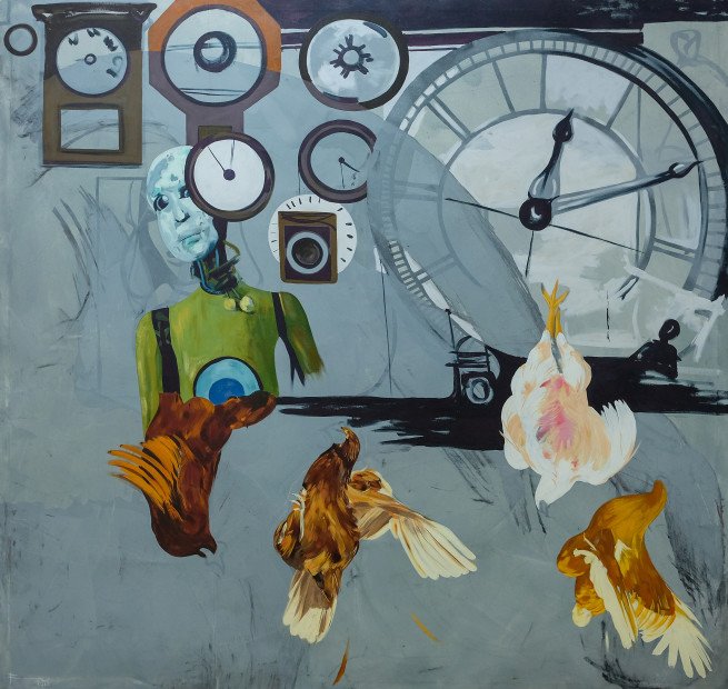 Frew Kebede, Imaginative Time, 2018