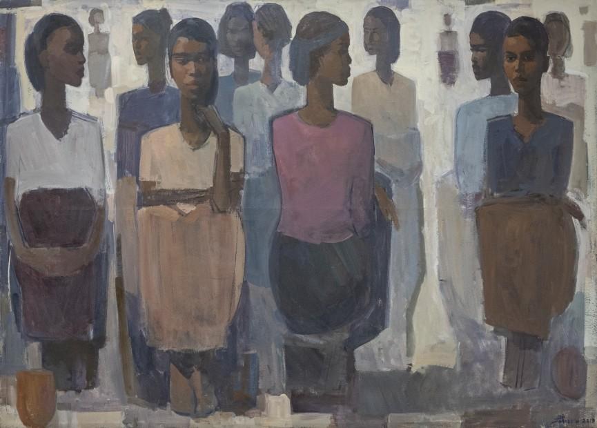 Tadesse Mesfin, Pillars of Life: Market Day II, 2019
