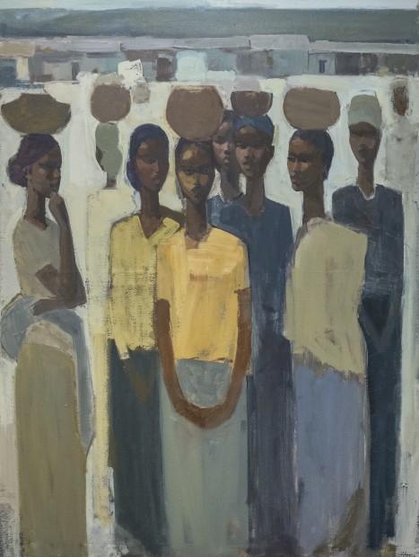 Tadesse Mesfin, Pillars of Life: Strength II, 2019