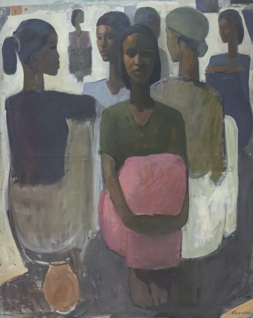 Tadesse Mesfin, Pillars of Life: Grace II, 2019