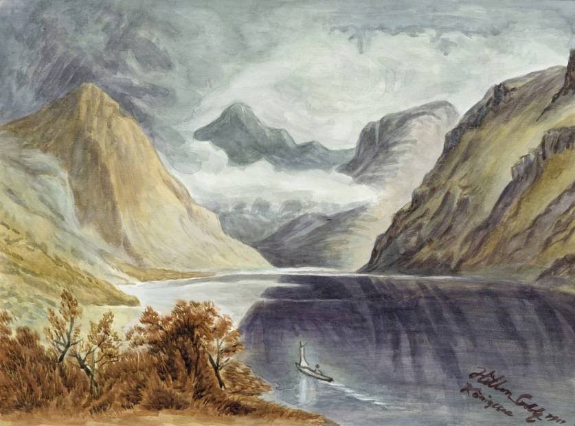 Yang Jiechang 杨诘苍, These are still Landscapes 1911-2011 No. 9 还是山水画1901-2011 9号, 2011