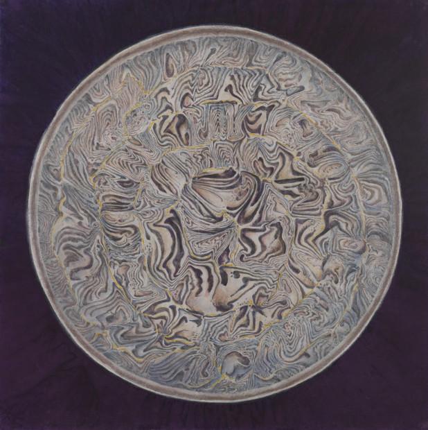 Zeng Xiaojun 曾小俊, Poetic Pattern of Song Ware IV 宋人词意之四, 2018