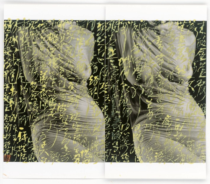 Wang Dongling 王冬龄, Poem by Su Manshu 苏曼殊《本事诗》, 2014