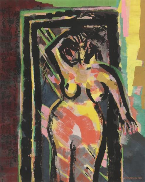 Chen Haiyan 陈海燕, Look into the Mirror 照镜子, 2014