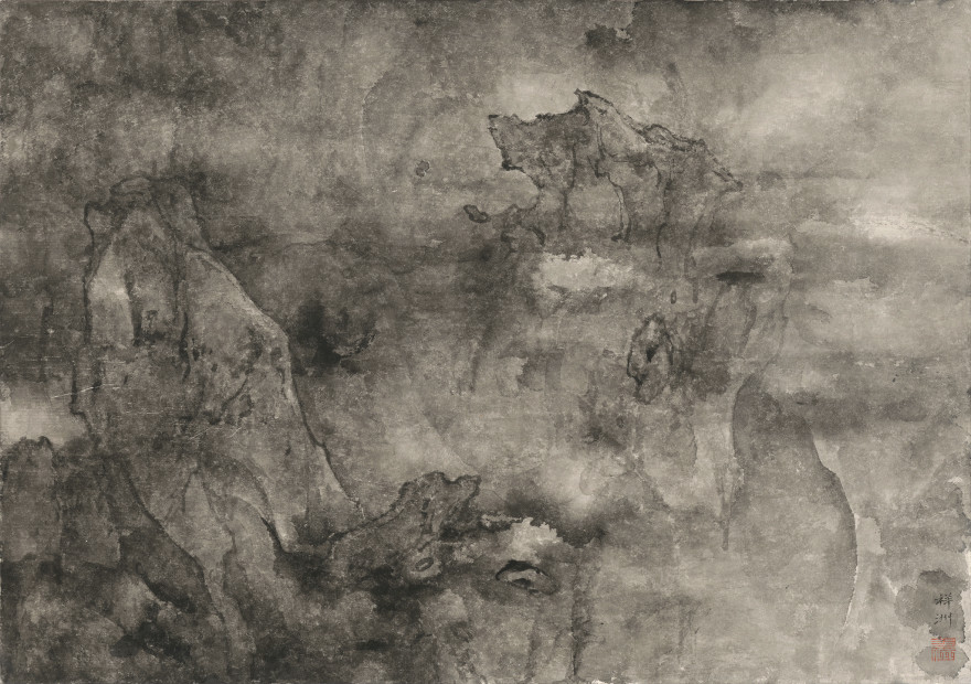 Tai Xiangzhou 泰祥洲, Shimmers at the Edge of the Clouds 云崖明灭, 2015