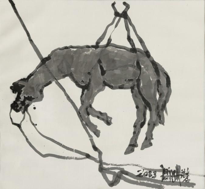 Yang Jiechang 杨诘苍, Heavenly Horse 天马, 2014