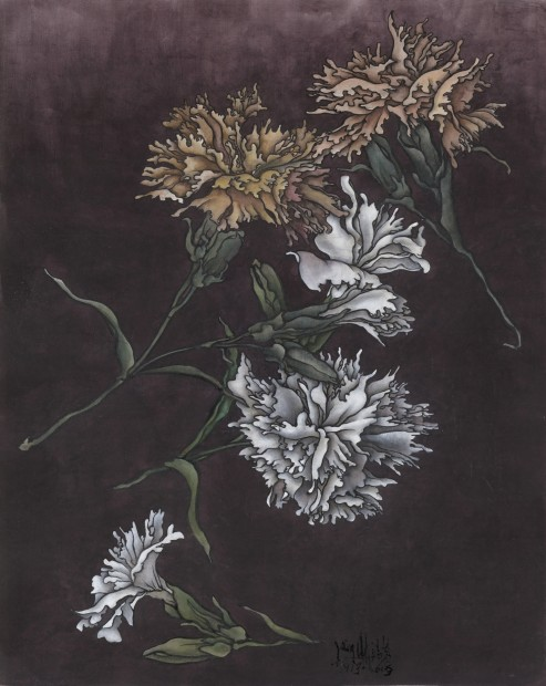 Yang Jiechang 杨诘苍, These are still Flowers 1913-2013 No. 1 还是花鸟画1913-2013 1号, 2013