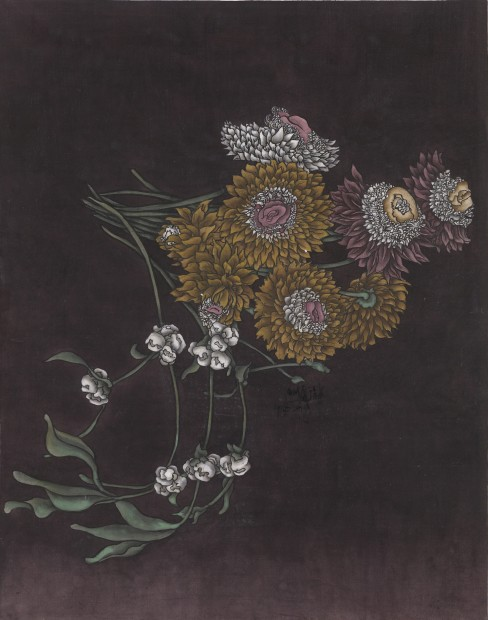 Yang Jiechang 杨诘苍, These are still Flowers 1913-2013 No. 5 还是花鸟画1913-2013 5号, 2013