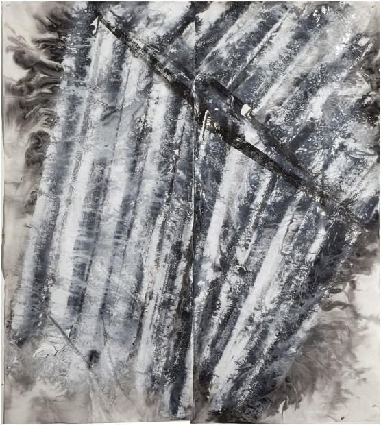 Zheng Chongbin 郑重宾, Multiple Slanted Layers 多斜层, 2015