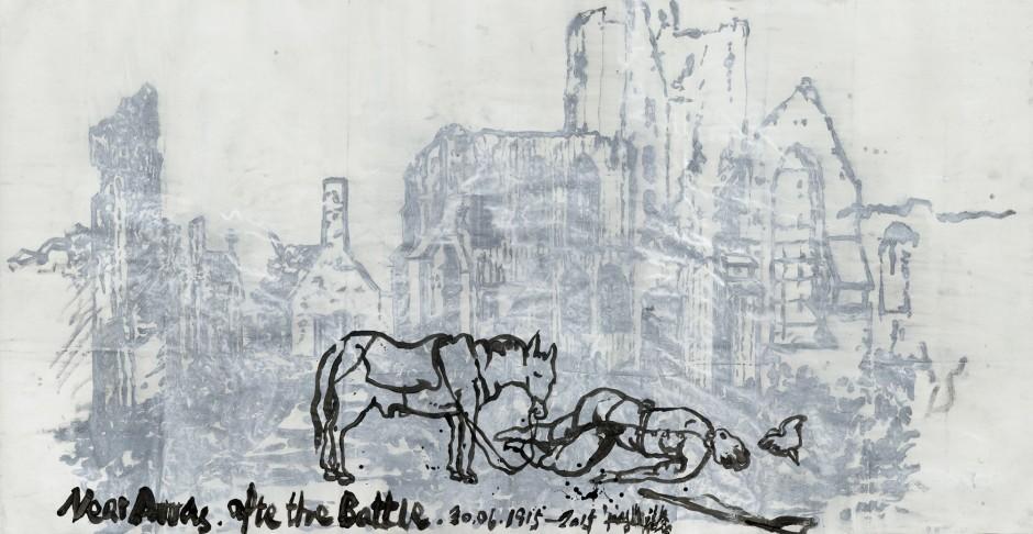 Yang Jiechang 杨诘苍, After the Battle 1914-2014 战后 1914-2014, 2014