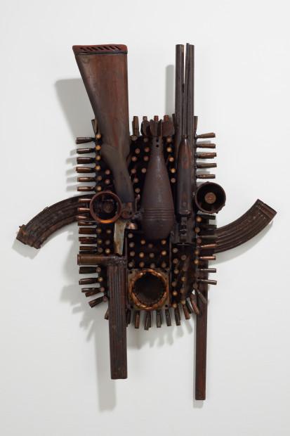Goncalo Mabunda, Untitled mask, 2019