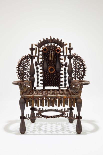 Goncalo Mabunda, Untitled (throne), 2019