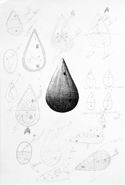 Shahpour Pouyan, Failed Object Drawing 7, 2014