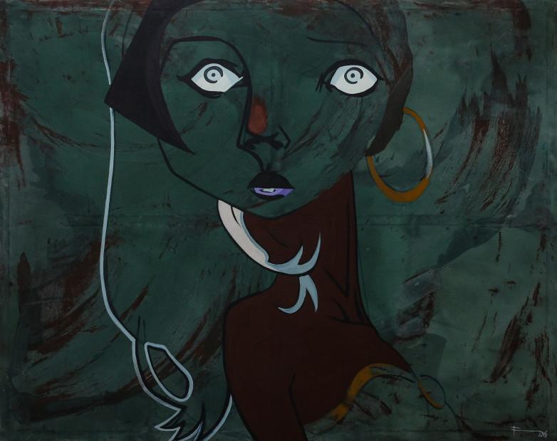 Frew Kebede, Untitled 1, 2018