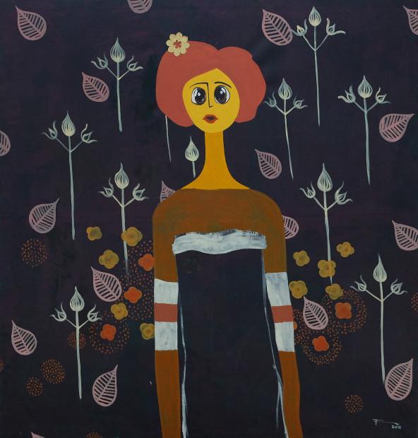 Frew Kebede, Untitled 2, 2018