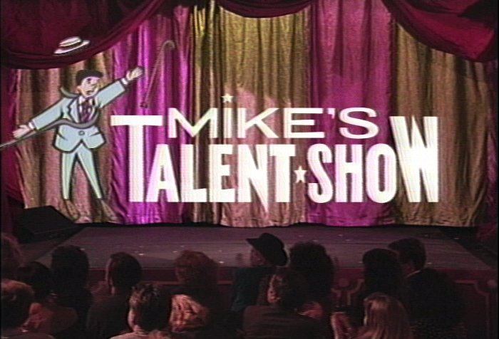 <span class=&#34;title&#34;>Mike's Talent Show<span class=&#34;title_comma&#34;>, </span></span><span class=&#34;year&#34;>1989</span>