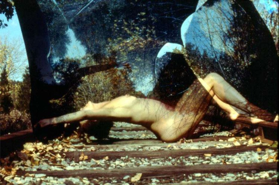 <em>Nude on Tracks (A)</em>, 1975/2005