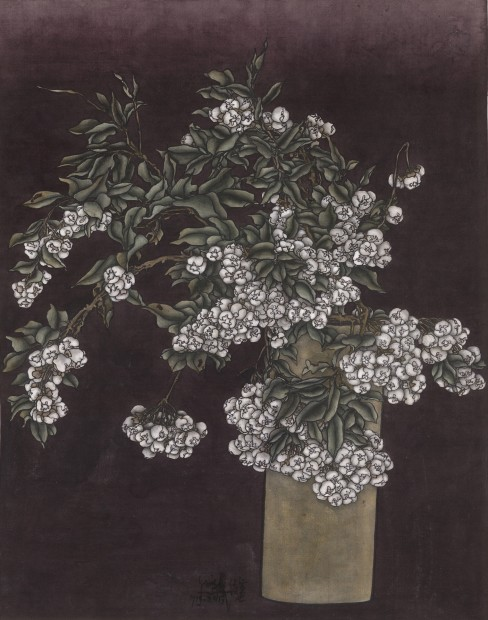 Yang Jiechang 杨诘苍, These are still Flowers 1913-2013 No. 4 还是花鸟画1913-2013 4号, 2013