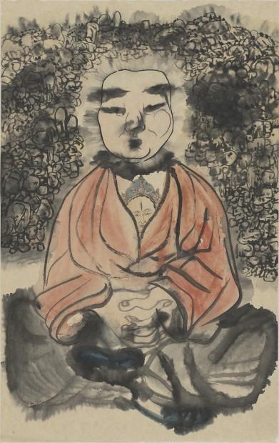 Li Jin 李津, Spiritual Practice 修行图, 1992