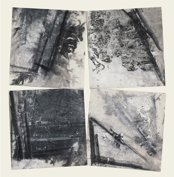 Zheng Chongbin 郑重宾, Tilted Four Corners 四个翘角, 2015