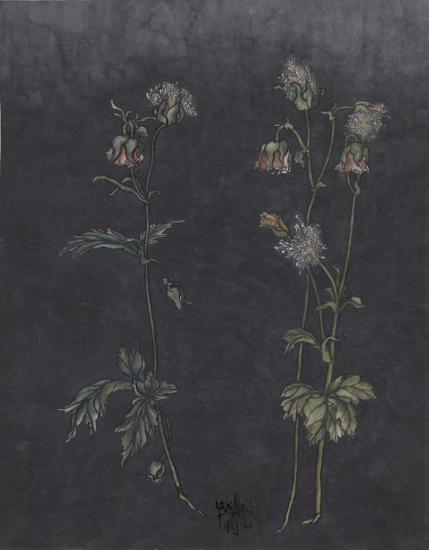 Yang Jiechang 杨诘苍, These are still Flowers 1913-2013 No. 2 还是花鸟画1913-2013 2号, 2013
