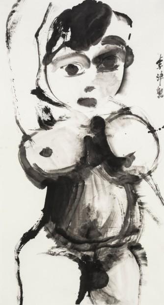 <span class=&#34;artist&#34;><strong>Li Jin &#26446;&#27941;</strong></span>, <span class=&#34;title&#34;><em>Ink Fairy &#27900;&#22696;&#20185;&#22899;</em>, 2014</span>