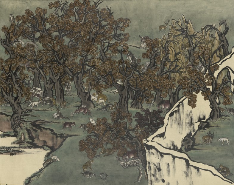 Yang Jiechang 杨诘苍, Mustard Seed Garden No. 1 芥子园 1号, 2010
