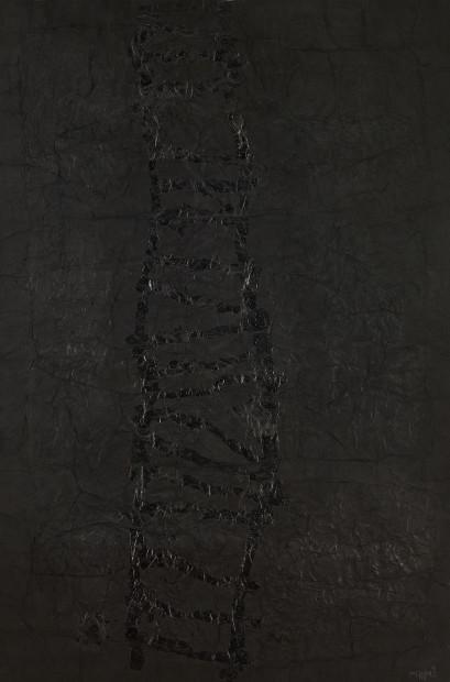 <p><span class=&#34;artist&#34;><strong>Yang Jiechang &#26472;&#35800;&#33485;</strong></span>, <span class=&#34;title&#34;><em>Ladder to Heaven &#22825;&#26799;</em>, 1992</span></p>