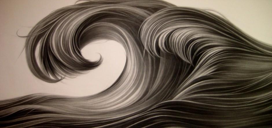 Zhang Chunhong 张春红, Waves 波浪, 2013