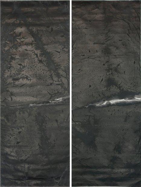 <span class=&#34;artist&#34;><strong>Zheng Chongbin &#37073;&#37325;&#23486;</strong></span>, <span class=&#34;title&#34;><em>Dark Vein No. 1-2 &#40657;&#33033; 1-2</em>, 2013</span>