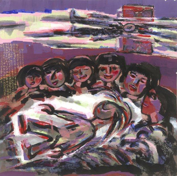 <span class=&#34;artist&#34;><strong>Chen Haiyan &#38472;&#28023;&#29141;</strong></span>, <span class=&#34;title&#34;><em>Flying &#39134;</em>, 2012</span>
