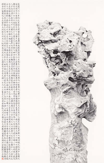 Liu Dan 刘丹, Taihu Rock of the Liuyuan Garden 留园太湖石, 2019