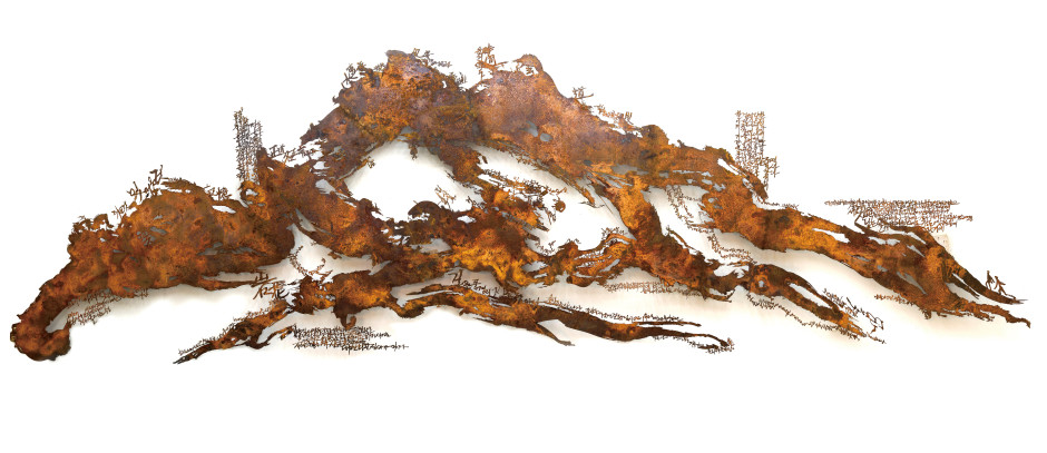 Lim Oksang 林玉相, Landscape 山水, 2011