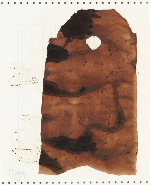 <p><span class=&#34;artist&#34;><strong>Yang Jiechang &#26472;&#35800;&#33485;</strong></span>, <span class=&#34;title&#34;><em>Soy Sauce Drawings 2 &#37233;&#27833;&#30011; 2</em>, 1988</span></p>