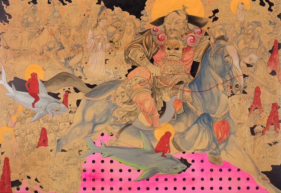 <span class=&#34;artist&#34;><strong>Baatarzorig Batjargal</strong></span>, <span class=&#34;title&#34;><em>Attila</em>, 2017</span>