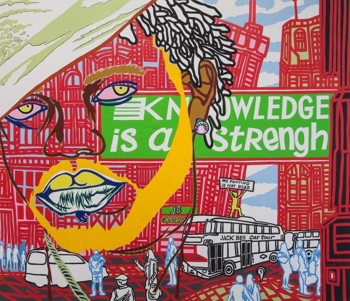 <span class=&#34;artist&#34;><strong>Boris Nzebo</strong></span>, <span class=&#34;title&#34;><em>The Knowledge</em>, 2015</span>