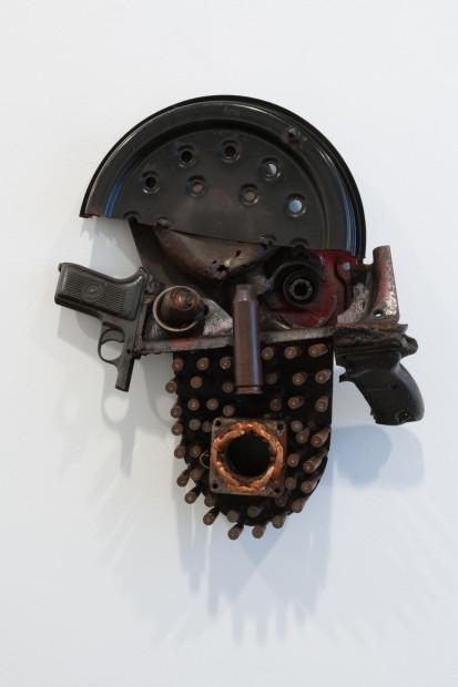 <span class=&#34;artist&#34;><strong>Gon&#231;alo Mabunda</strong></span>, <span class=&#34;title&#34;><em>Untitled Mask</em>, 2015</span>