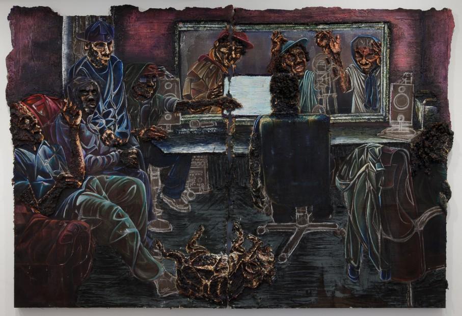 <em>Studio (diptych)</em>, 2015
