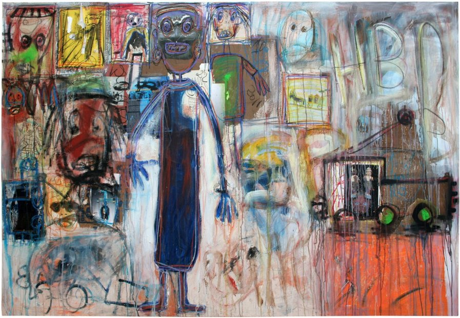 <em>&#34;Girls walking&#34;</em>, 2011