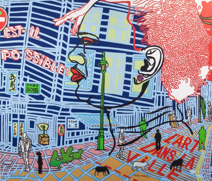 <span class=&#34;artist&#34;><strong>Boris Nzebo</strong></span>, <span class=&#34;title&#34;><em>Is Possible?</em>, 2015</span>