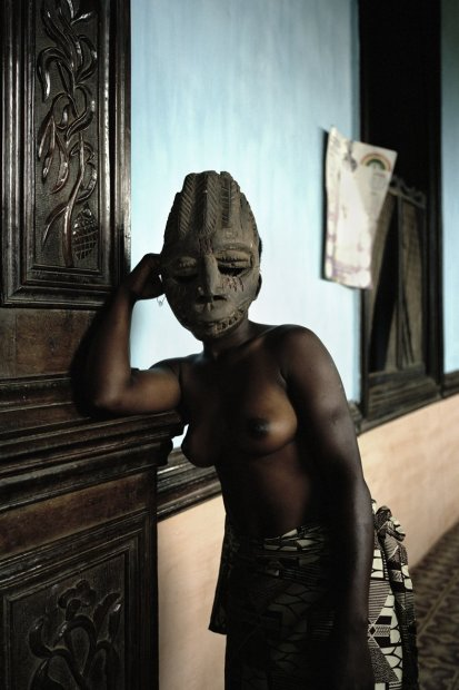 Untitled (Demoiselles de Porto-Novo series), 2012