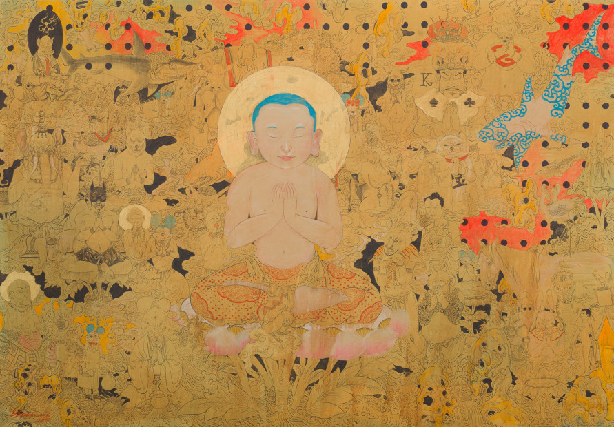 <em>Little Budda</em>, 2016