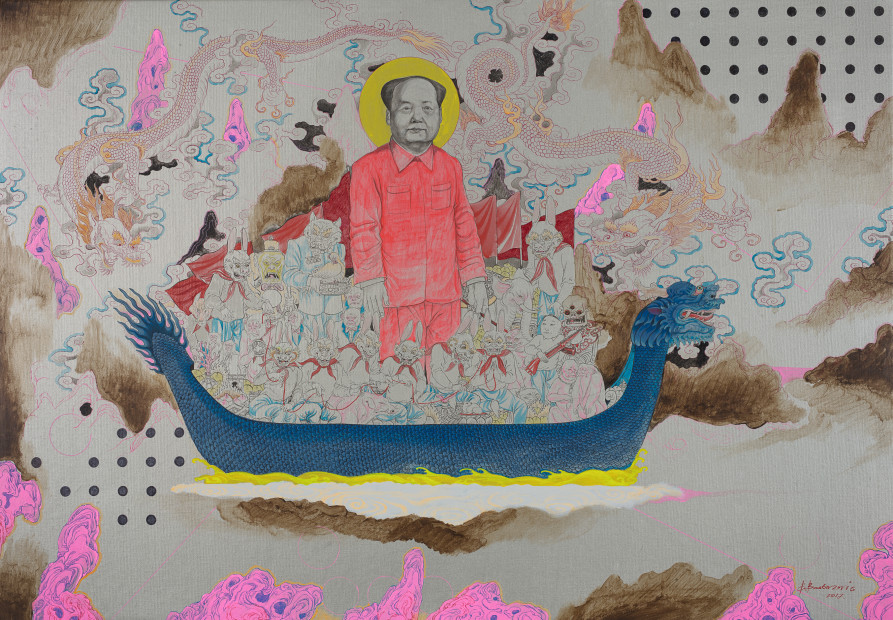 <em>Mao's Dream</em>, 2017