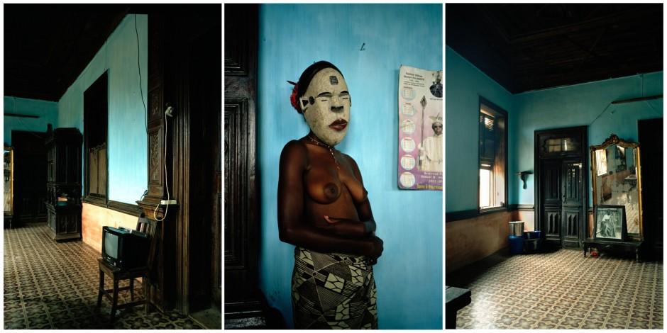 <span class=&#34;title&#34;>Untitled triptych (Demoiselles de Porto-Novo series)<span class=&#34;title_comma&#34;>, </span></span><span class=&#34;year&#34;>2012</span>