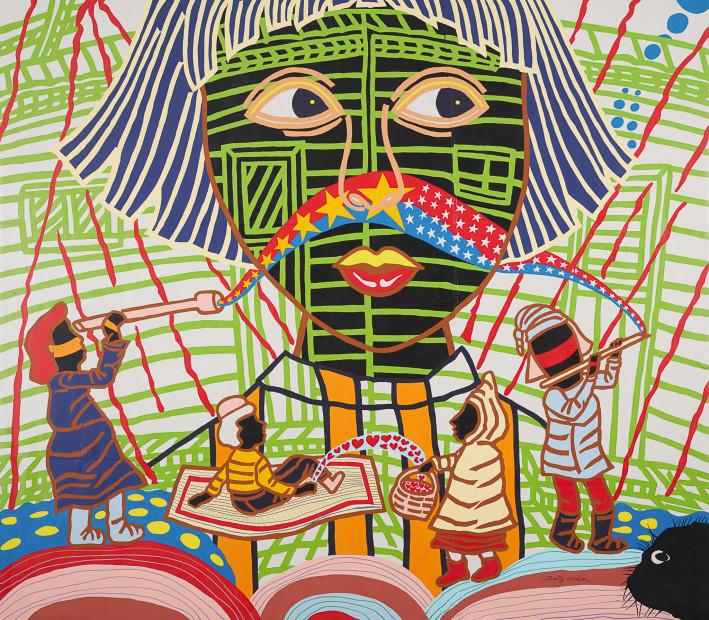 <span class=&#34;artist&#34;><strong>Boris Nzebo</strong></span>, <span class=&#34;title&#34;><em>Au Pays des merveilles</em>, 2017</span>