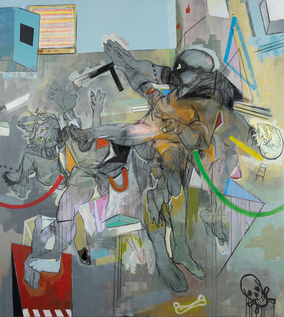 <span class=&#34;artist&#34;><strong>Thameur Mejri</strong></span>, <span class=&#34;title&#34;><em>Destroy the source</em>, 2016</span>